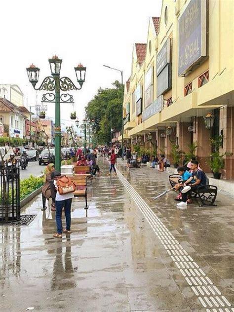 Setrika Wajah Di Jogja mengintip wajah baru pedestrian malioboro food travel bintang