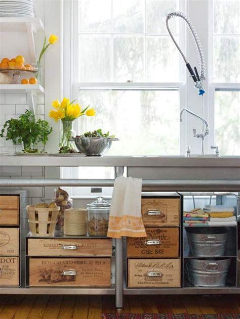 antique kitchen storage vintage living 12 amazing repurposed storage ideas bhg