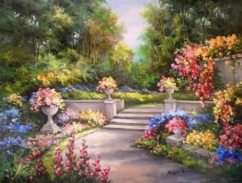 Gardens And More Cuadros Modernos Pinturas Impresionistas