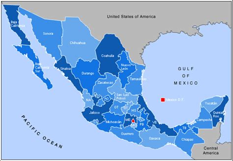 state map of mexico water loss 6000 liters per second th nk about it