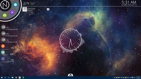 wallpaper engine music the nxt nebula desktop lifehacker australia