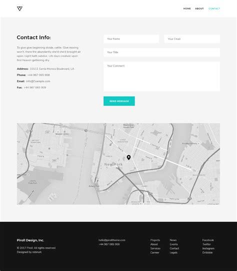 e portfolio templates free piroll free psd portfolio template free design resources