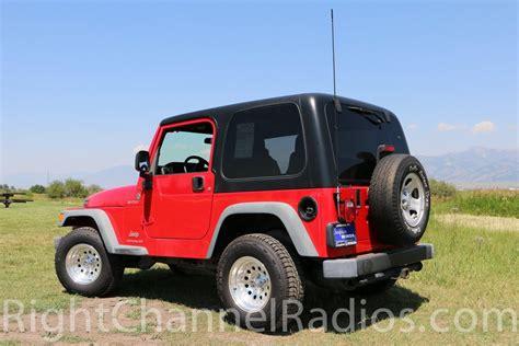 Jeep Wrangler Mount Teraflex Jeep Wrangler Cb Mount Right Channel Radios