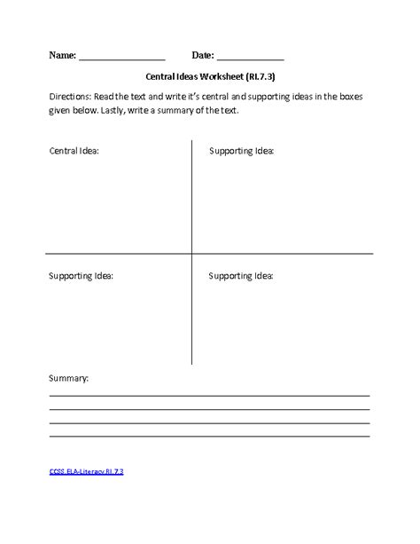 english worksheets 7th grade common core aligned