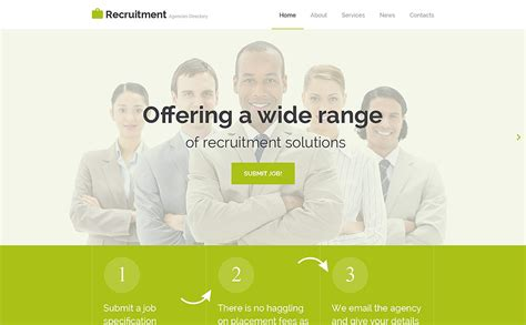 job portal responsive website template 57619 by wt job portal responsive website template 57619