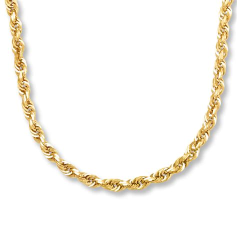 sterlingjewelers s chain necklace 10k yellow gold