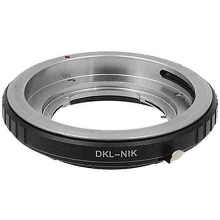 fotodiox mount adapter for dkl lens to nikon f mount