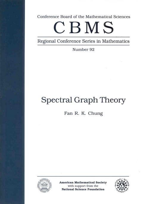 applying graph theory in ecological research books spectral graph theory a book by fan chung