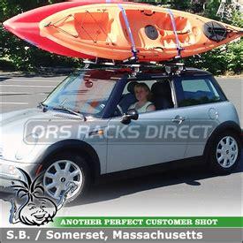 thule roof rack kayak carrier life style by modernstork.com