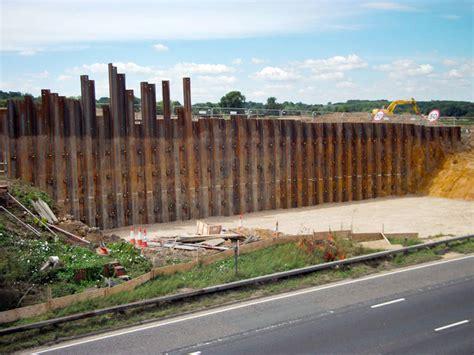 timber sheet pile wall retaining walls j n piling
