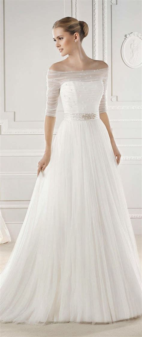 schlichtes hochzeitskleid simple wedding dresses with elegance modwedding