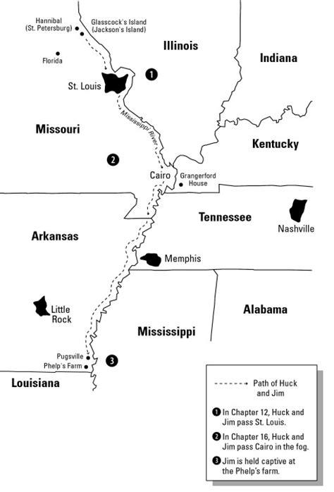 Huck Finn Symbolism Mississippi River Quotes