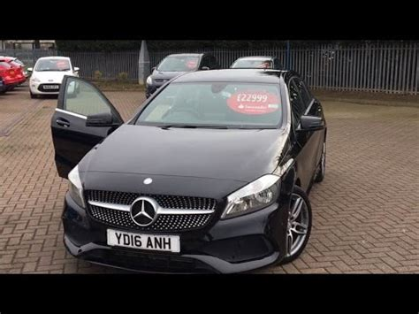 used mercedes a class a200d amg line executive 5dr