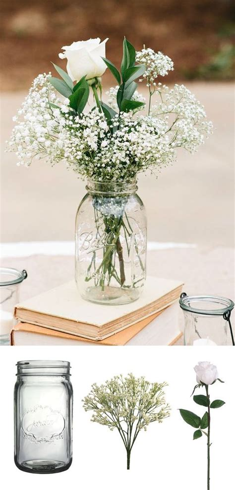 simple table centerpieces for weddings best 25 wedding centerpieces cheap ideas on