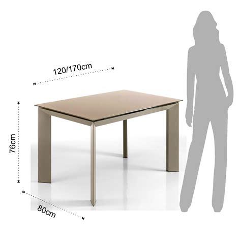 tavolo da soggiorno allungabile tavolo da soggiorno allungabile in metallo tortora con