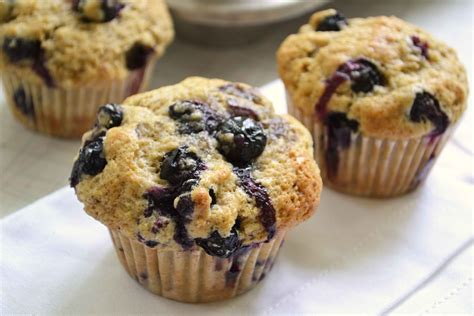 Back to School Brown Sugar Blueberry Muffins