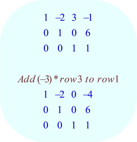 calculator gauss jordan solve the system of equations by gaussian elimination