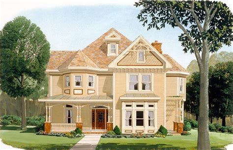 victorian country house plans country farmhouse victorian house plan 95560