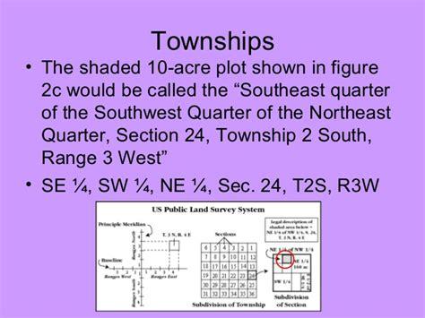 quarter section acres lab five us geological survey topographic maps us public