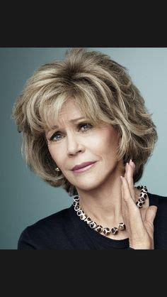 jane fonda hair colo hair on pinterest short hair styles short haircuts and