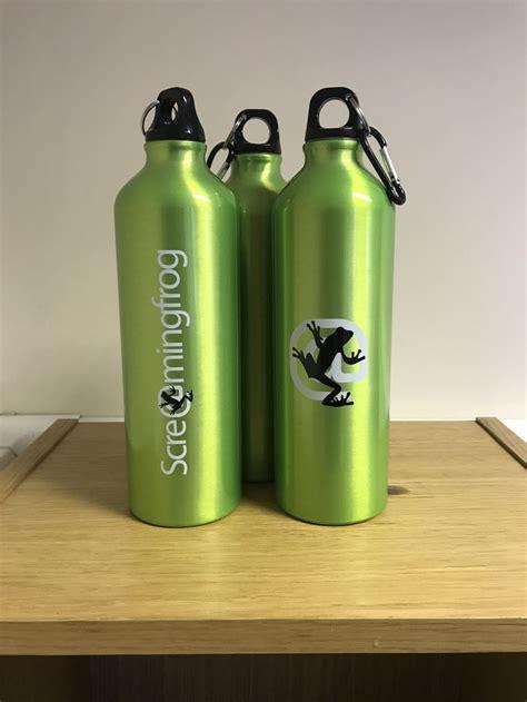 Water Bottle Giveaways - screaming frog drinking bottles giveaway screaming frog