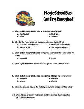 Magic School All Worksheet by Magic School Getting Energized By Lori Stidham Tpt