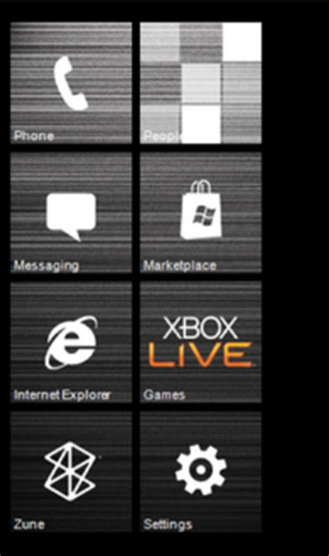 live home themes themes for windows phone 7 enables you to customize home