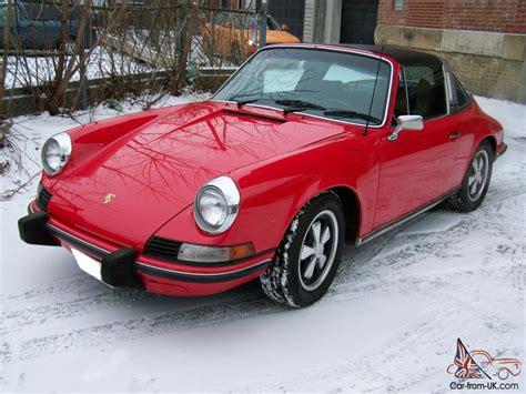 porsche targa 80s porsche 911 911t targa 1973 1 2 cis