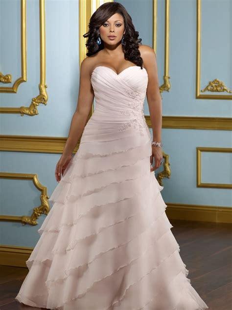 imagenes de vestidos de novia con olanes galer 237 a categor 237 a tallas grandes imagen vestido de