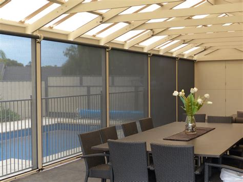 all weather l shades outdoor blinds gallery all weather blinds