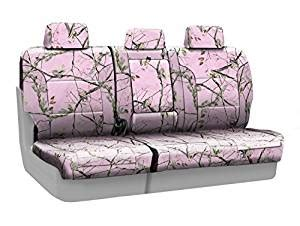 pink camo bench seat cover amazon com coverking rear 60 40 bench custom fit seat