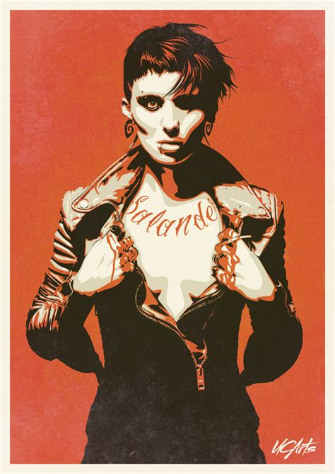 lisbeth salander by ucarts on deviantart
