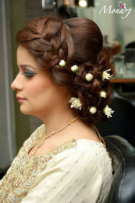 new hair style girl punjabi new long and messy bun hair styles by mona j from 2015