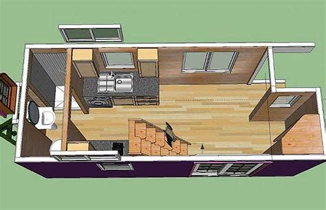 colorful solar powered ravenlore tiny house is built to
