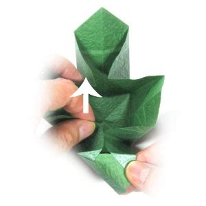 how to make a closed origami cube page 11