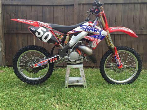 plano honda 2002 honda cr 125 plano honda race bike for sale bazaar
