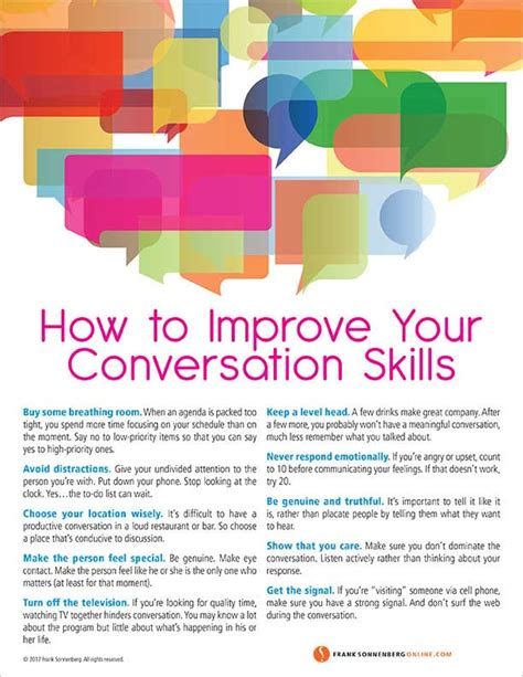 how to improve your conversation skills 10 valuable tips