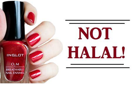 Inglot O2m Halal Nail inglot o2m nail not halal مناكير انجلوت quot الإسلامية quot لا تصلح للوضوء