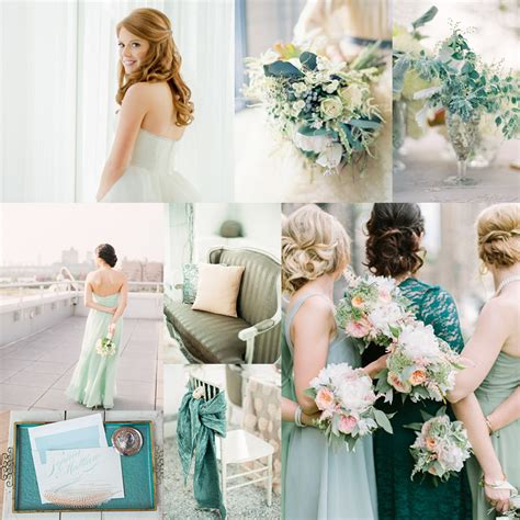 teal wedding colors teal and mint wedding colors elizabeth designs