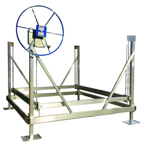 boat lift guide rails starr lifts great lakes entry systems
