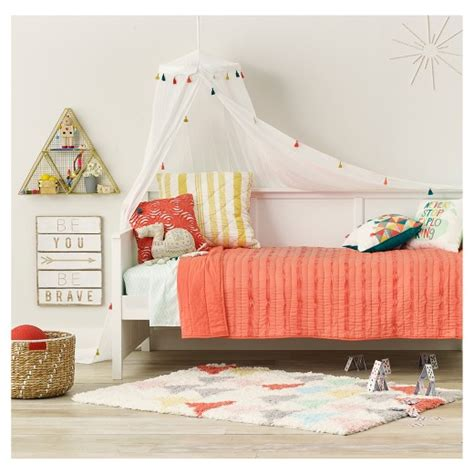 target canopy bed tassel bed canopy one size white pillowfort target