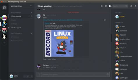 discord linux discord announce their linux client is now officially
