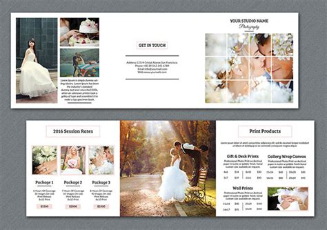 20 fresh beautiful brochure design layout ideas for