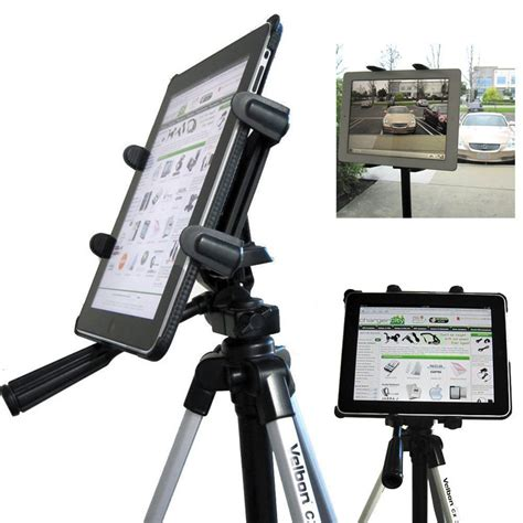 Tripod Tablet chargercity vibrationfree 360 adjust tripod mount 1 4 20