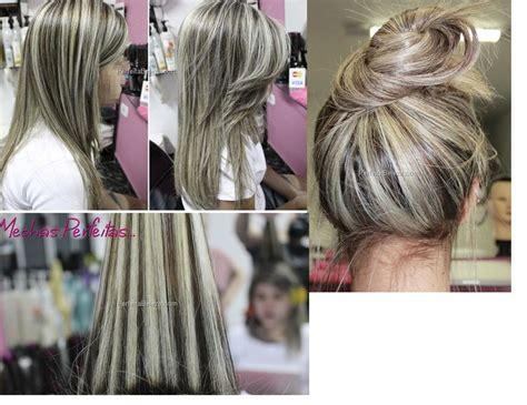 mechas ceniza intensa en cabello corto mechas grossas e platinadas acinzentadas hair do