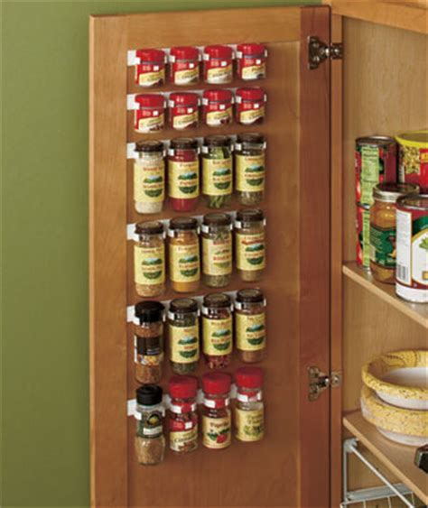 Kitchen Cabinet Spice Organizers Spice Storage Rack Holder Organizer Clip Set Kitchen Cabinet Seasonings Pantry Best Spice