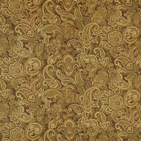 brown paisley upholstery fabric cocoa brown paisley print upholstery fabric
