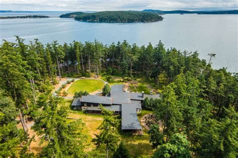 trump island in san juans listed for 8 7m seattlepi com