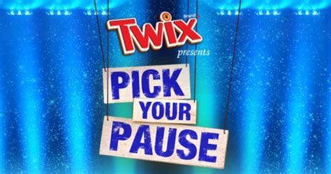 Twix Pause Instant Win Game - twix pick your pause instant win game