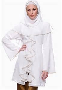 Blouse Muslim Pranas Abstrak High Neck Minus The Headdress Dresses For My Likes